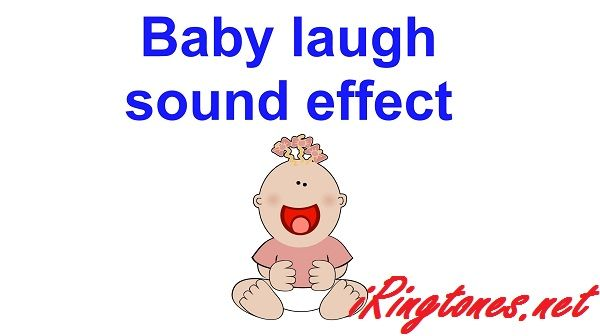 Baby laugh sound effect ringtones artist by Updating, in the