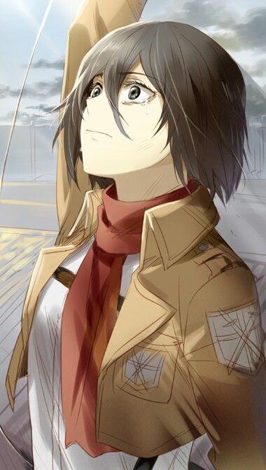 Imagen de anime, mikasa, and shingeki no kyojin