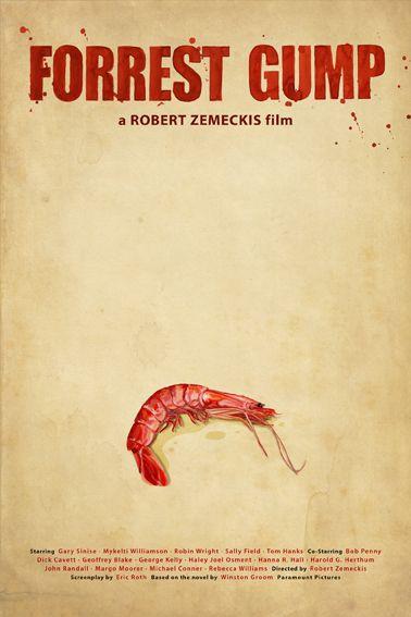 Forrest Gump movie poster by OscarDelmar.deviantart.com
