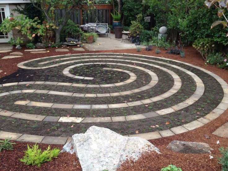 29 best Labyrinth in small garden images on Pinterest | Labyrinths Labyrinth Garden Designs Banners on simple garden designs, 6 path labyrinth designs, water garden designs, spiral designs, indoor labyrinth designs, meditation garden designs, dog park designs, informal herb garden designs, labyrinth backyard designs, school garden designs, greenhouse garden designs, new mexico garden designs, stage garden designs, knockout rose garden designs, rectangular prayer labyrinth designs, finger labyrinth designs, heart labyrinth designs, walking labyrinth designs, christian prayer labyrinth designs, shade garden designs,