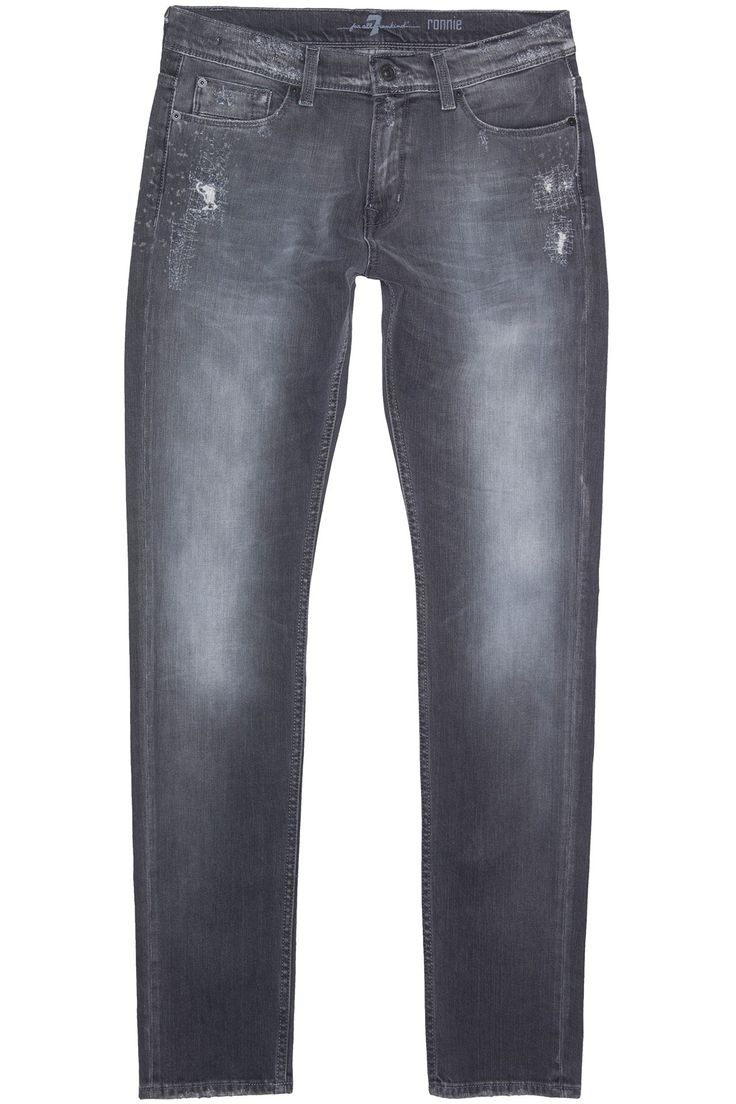 7 For All Mankind Vintage Ronnie Grey