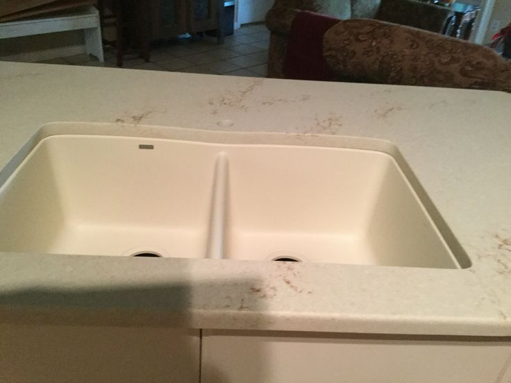 phase 2 after quartz counter installed blanco composite. Black Bedroom Furniture Sets. Home Design Ideas
