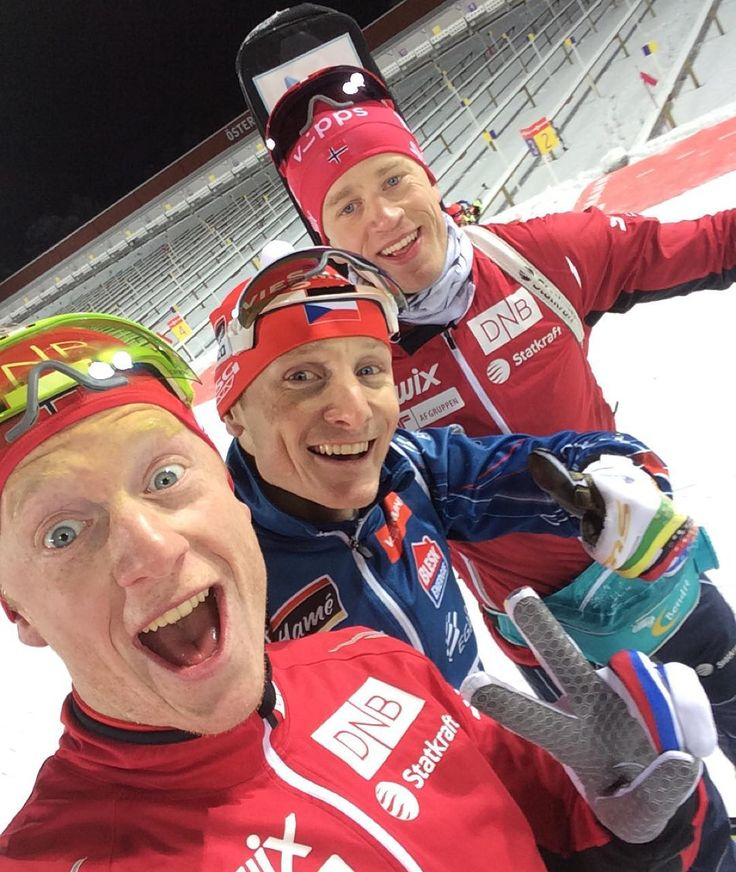 """Mixed relay tomorrow❄ Czech Republic will be strong, but hopefully team Norway will be stronger"""