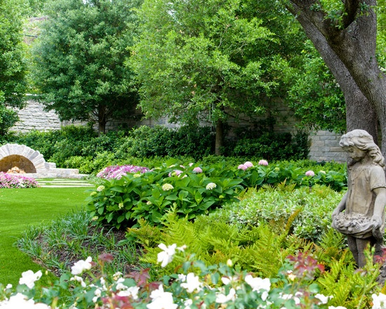 Traditional Landscape French Country Garden Design, Pictures, Remodel, Decor and Ideas - page 21