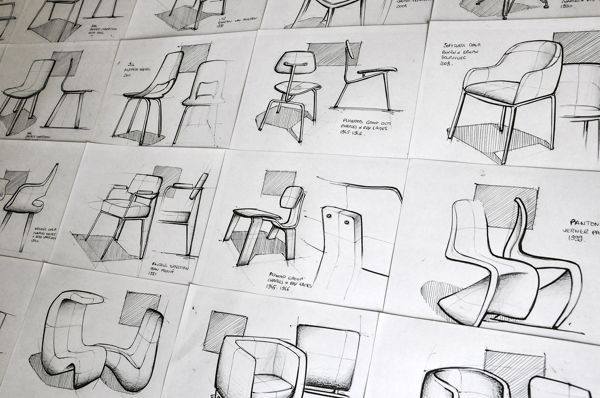 Chair Sketches on Behance