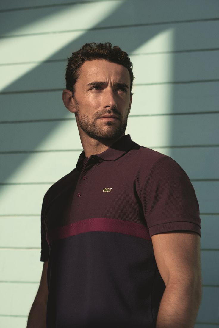 Our newest Lacoste Urbanite : Yohan Triboulat sporting one of our Colour Block Polos. Discover his story.