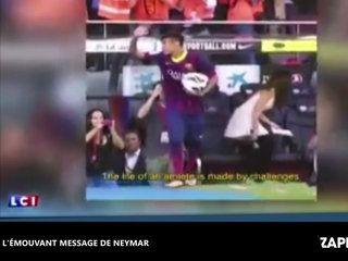 Neymar au PSG : Son poignant message d'adieu au Barça (vidéo)