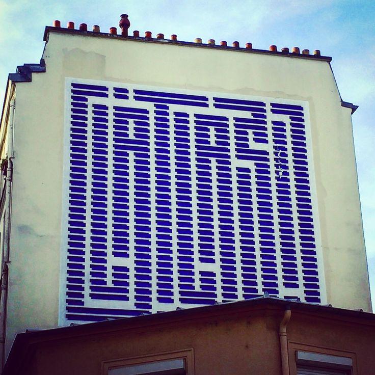 #latlas by @latlas_art #streetart #graffiti #graff #spray #bombing #sprayart #wall #instagraff #instagraffiti #streetartist #urbanart #streetartparis #wallporn #streetarteverywhere #graffitiart #graffitiporn #streetphoto #urbanwalls Rue du Chevaleret #paris
