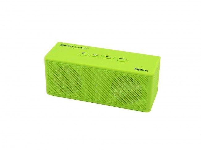 Pure Acoustics Hipbox Mini groen - Radio's met Bluetooth - Radio's - 123platenspeler.nl