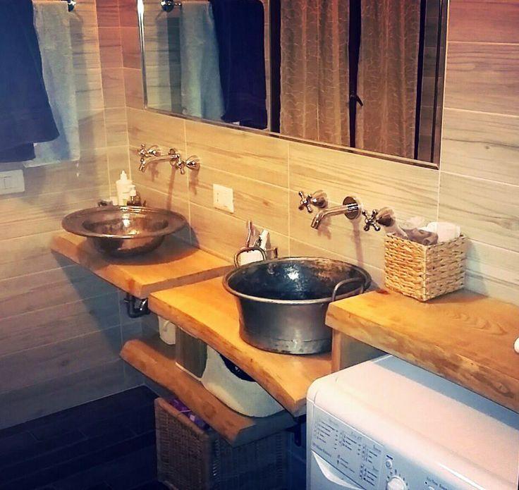 Pi di 25 fantastiche idee su mensole da bagno su for Installazione di condotte idriche in rame