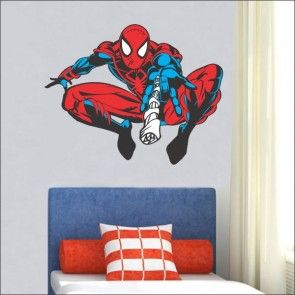 Adesivo de parede infantil homem aranha