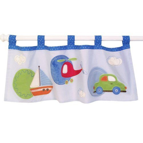 Nursery Décor Sumersault Tiny Trips Valance, Blues * See this great product.