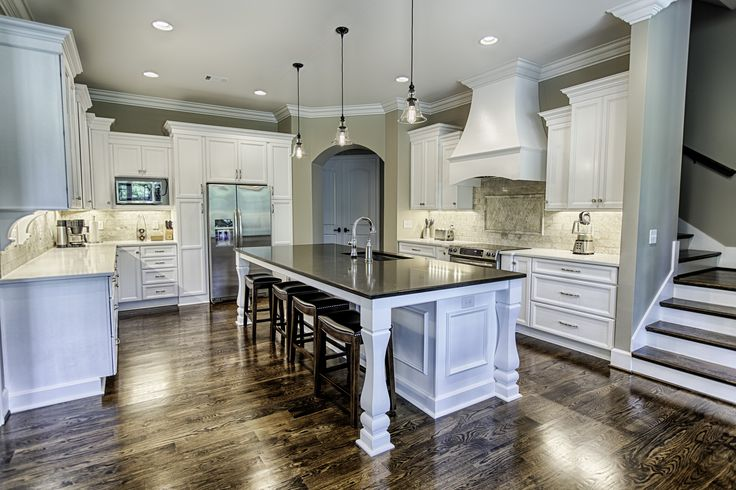 cabinets, quartz countertops, hardwood floors, stainless appliances ...