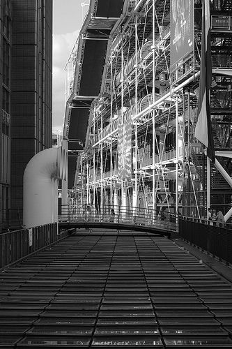 IRCAM/Centre Pompidou  Renzo Piano  Paris, France