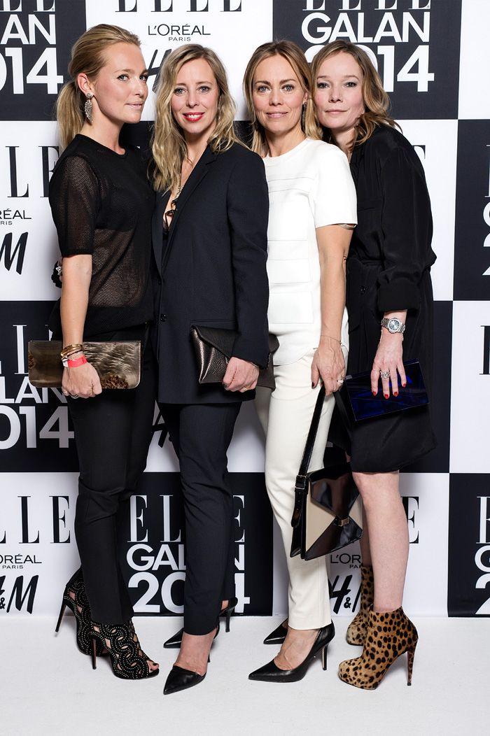 House of Dagmar: Kristina Tjäder, Karin Söderlind, Sofia Wallenstam och Maria Virgin.