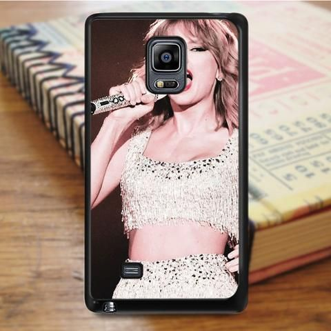 Taylor Swift Singer Show Samsung Galaxy Note Edge Case