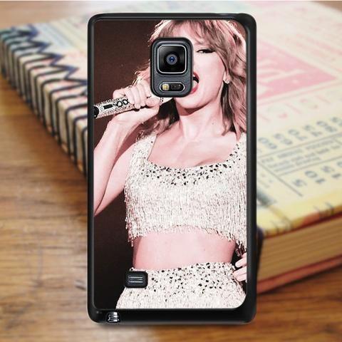 Taylor Swift Singer Show Samsung Galaxy Note Edge Case
