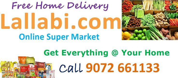 Start #Buying #Grocery Online and get Free home #Delivery form Lallabi.com. Lallabi Online Supermarket providing Fresh #Fruits #Vegetables with best quality. To order visit: https://supermarket.lallabi.com