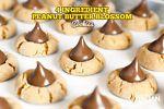 4-Ingredient Peanut Blossom Cookies