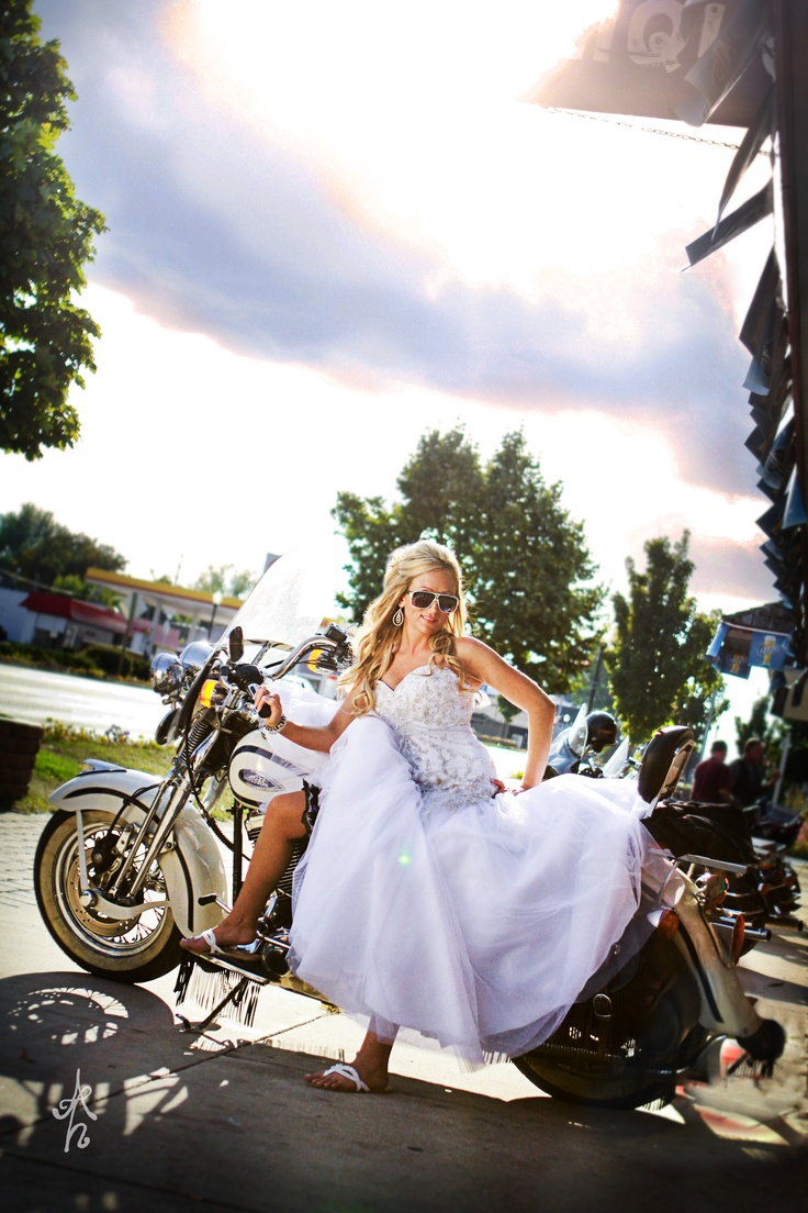 25 Cute Biker Wedding Dress Ideas On Pinterest