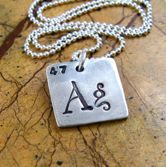 55 best nature science jewelry images on pinterest jewerly items similar to periodic table necklace silver science geekery necklace personalized teacher appreciation gift period table elements ag fine silver pmc on urtaz Images