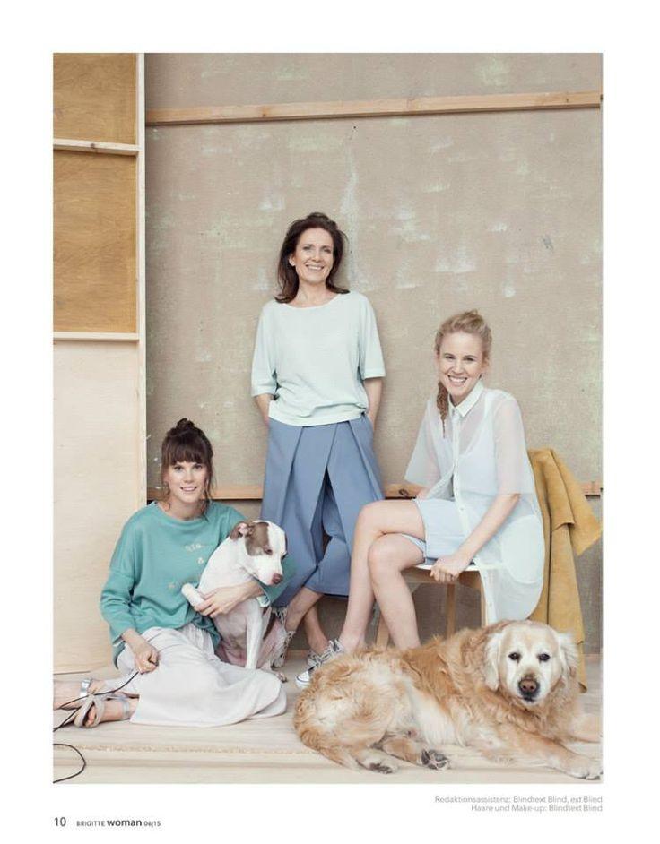 MUM & CO for Brigitte Magazine