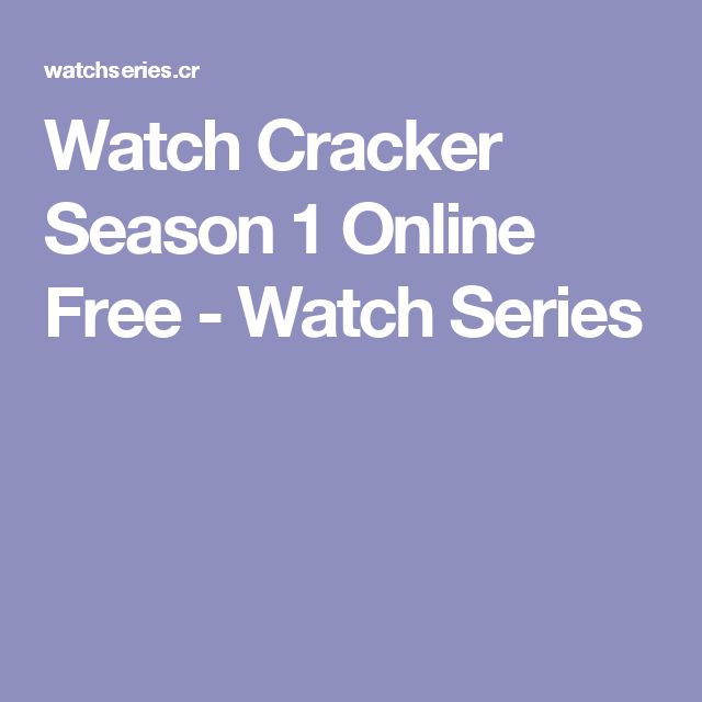 Watch Cracker Season 1 Online Free - Watch Series