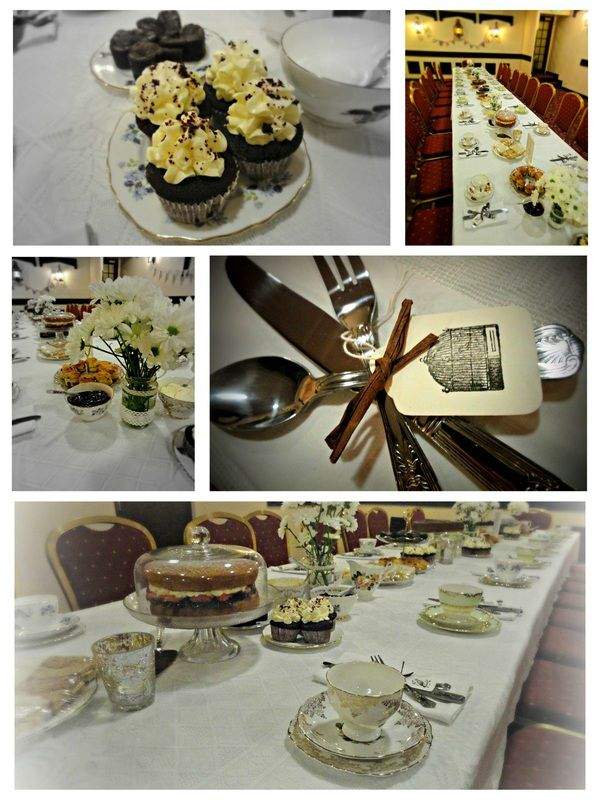 A 1920s inspired tea party. See http://www.ohsosweetoccasions.com to find out more about our vintage tea parties.