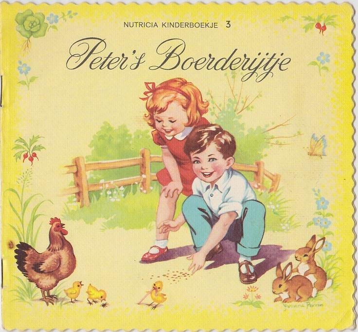 Nutricia kartelboekje Peter's boerderijtje. Ik heb hem nog!
