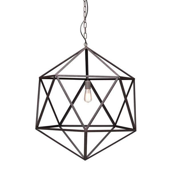 Geometric Ceiling Lamp - Large   dotandbo.com