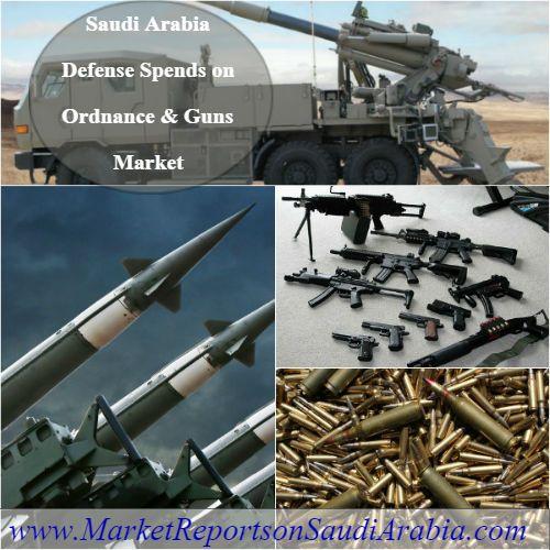 #SaudiArabia #Defense Spends on #Ordnance & #Guns Market