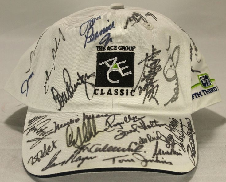 PGA Multi-Signed Hat Signed by (24) with Mark O'Meara, Gary Player, Hale Irwin (JSA ALOA)