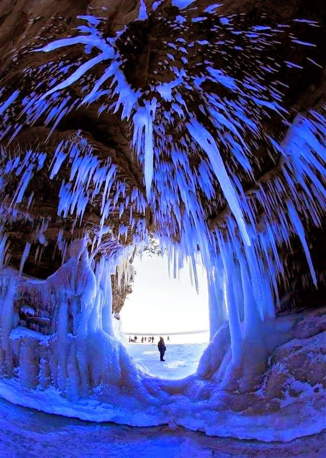 The Ice Caves of the Apostle Islands National Lakeshore