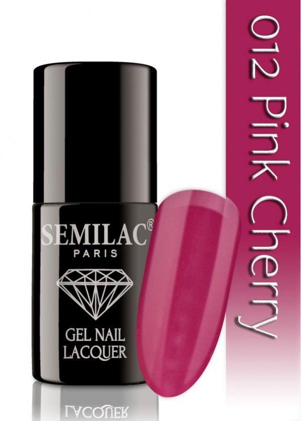 Semilac 012 Pink Cherry UV&LED Nagellack. Auch ohne Nagelstudio bis zu 3 WOCHEN perfekte Nägel!