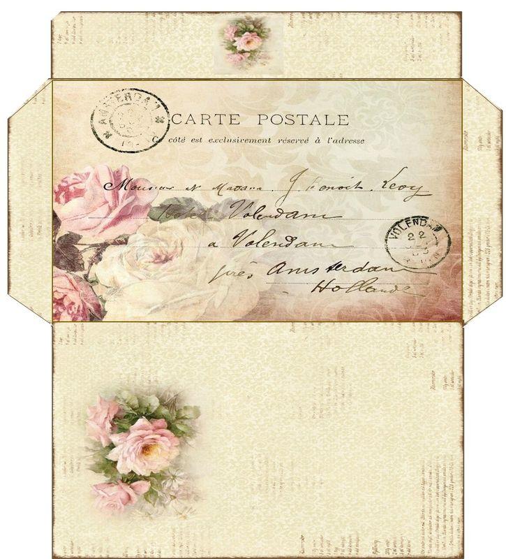 Rien que pour vous   mes enveloppes vintage - Astréor