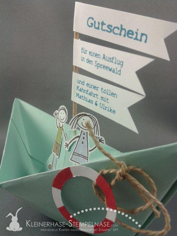 Stampin Up Gutschein Bootsfahrt Spreewald 02