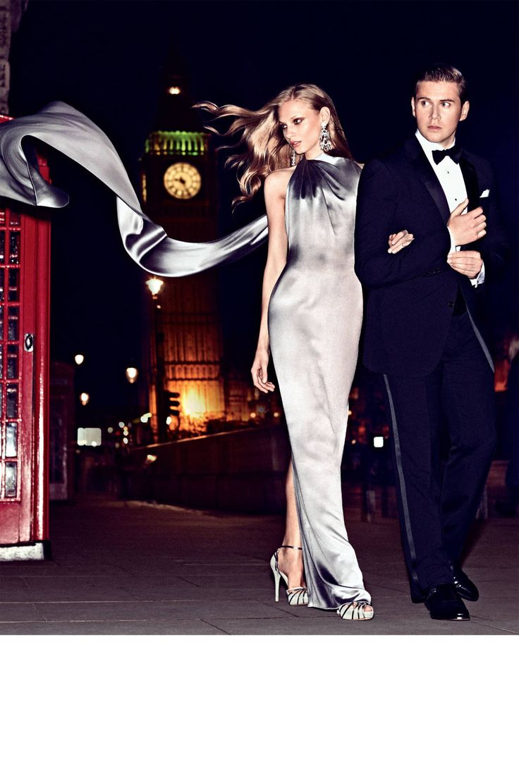 Downton Abbey's Allen Leech and Anna Selezneva - Best of Ralph Lauren Editorial Over the Last Ten Years - Harper's BAZAAR