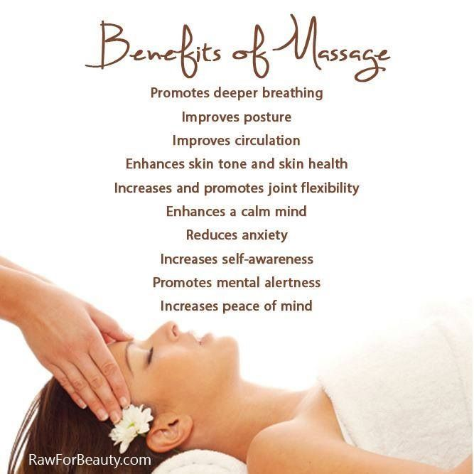 Benefits of a great massage and how it can help improve your life