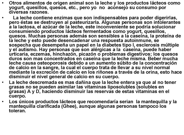 consejo 4d LACTEOS