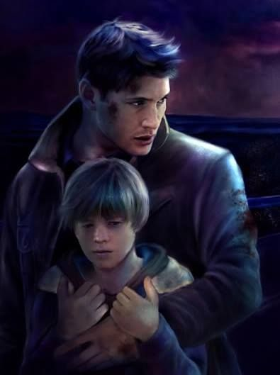 """Part 1 of my fanfic: It was dark, darkness was taking over me. I can't remember what I was doing. Where am I? I just remember entering the house with Sam and Cas... """"Dean?!""""  Wait, I think I hear something... """"Dean!!!""""  I can't ever forget that voice, thank goodness I can hear him, I know now that he's okay. TO BE CONTINUED"""