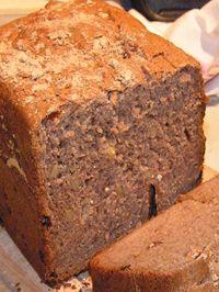 pane alla farina di castagne e pinoli con la macchina del pane