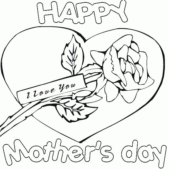 Christian Mothers Day Coloring Pages