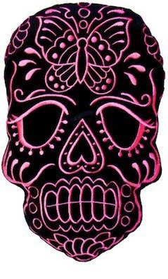 Sugar Skull--in my 2 favorite colors!