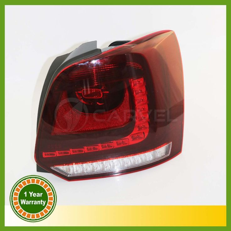 (199.99$)  Buy here  - New For VW Polo 2010 2011 2012 2013 Right Side LED Tail Light Rear Light 6R0945096