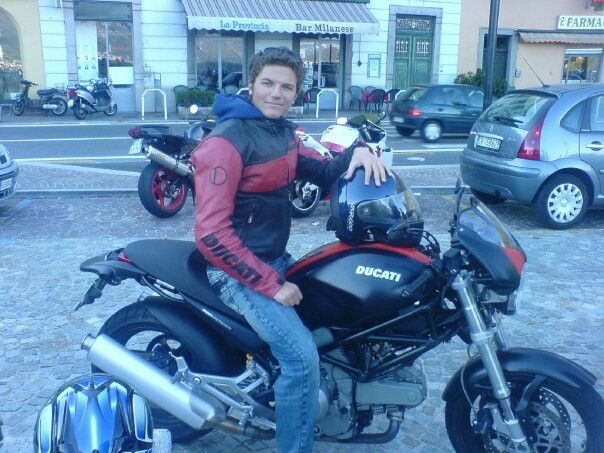 """My first """"love"""" Ducati Monster 620 ie Dark edition Jacket by Ducati Model: Monster Year: 2006"""