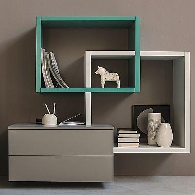 Minimalist, elegant 'Sea' Wall Unit. Beautiful piece. My Italian Living