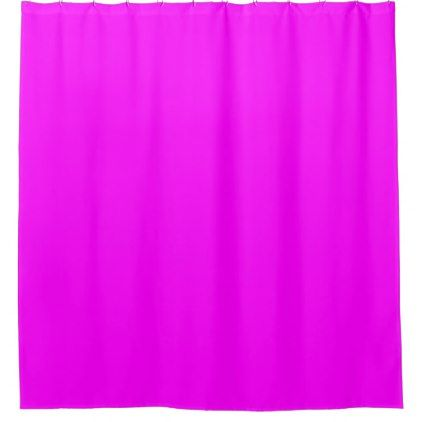 bright pink shower curtain - shower curtains home decor custom idea personalize bathroom