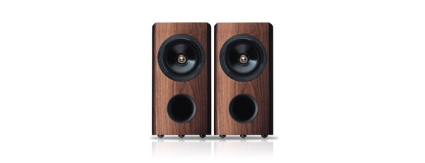 Walnut speakers by Pioneer