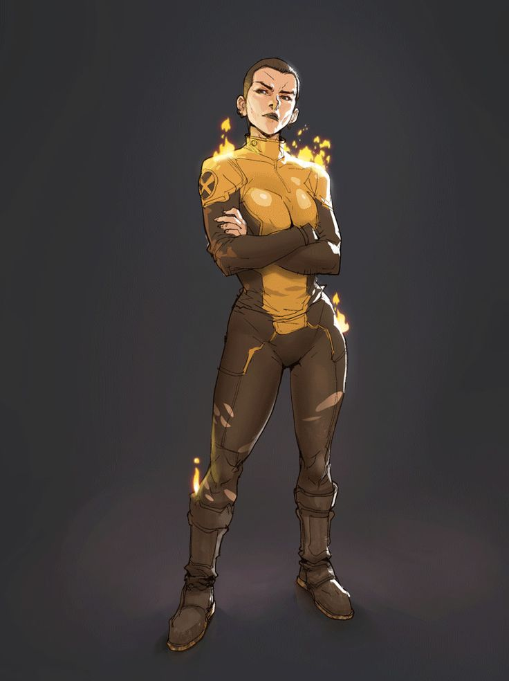 Negasonic animated gif , Hicham Habchi on ArtStation at https://www.artstation.com/artwork/oWOPk