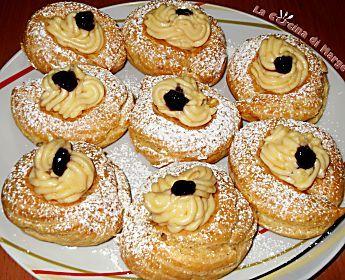 Zeppole di San Giuseppe,ricetta dolci Marge